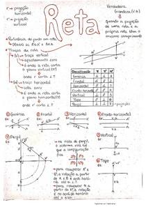 Geometria Descritiva - Reta