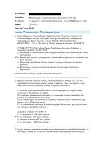 Acadêmico PROVA 1