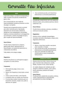 Dermatite Não Infecciosa ok