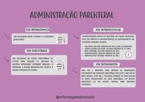 administração parenteral