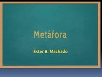 Metáfora Figura de linguagem