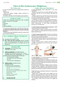 Fatores de RCV e dislipidemia