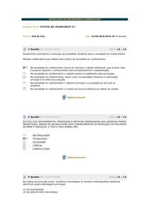 AV1 TECNOLOGIA DA INFORMAÇÃO E COMUNICAÇÃO