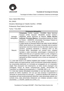 Modelo de Fichamento Bibliografico