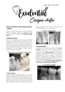 TÉCNICA CIRURGICA ABERTA. | EXODONTIA