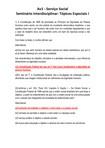 Av1   Serviço Social Seminário Interdisciplinar Tópicos Especiais I