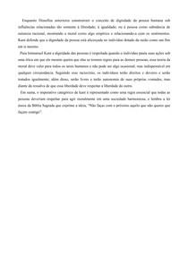 Kant - Imperativo Categórico