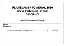 PLANEJAMENTO ANUAL LP 8º ANO - 2020