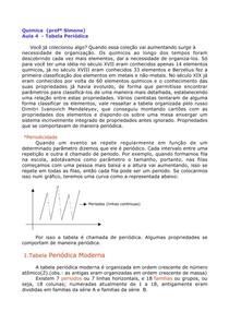 04- Tabela periódica +questões com gabarito