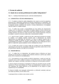 Auditoria Contábil   Normas de auditoria