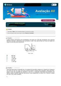 Mecanica dos Solidos AV
