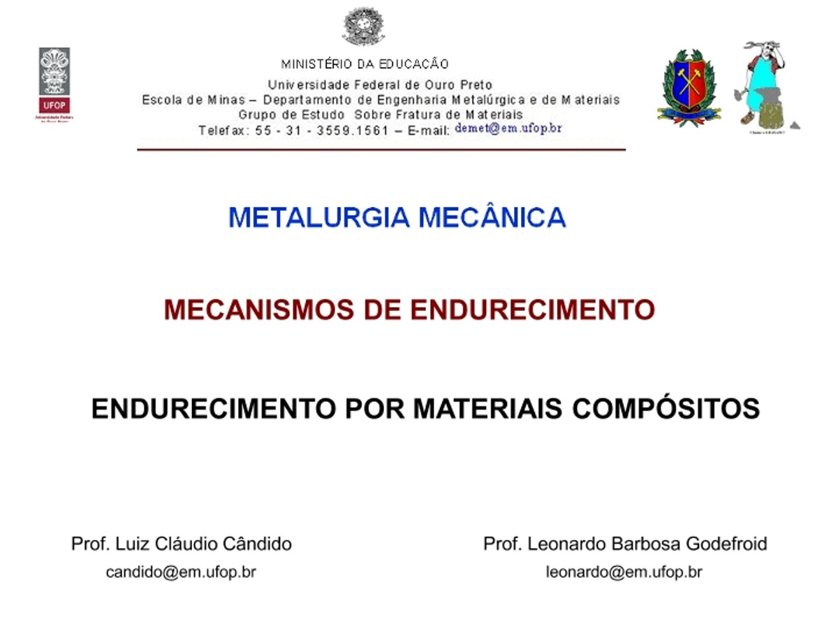 Pre-visualização do material Mec. de Endur. - 8 - Compósitos - página 1