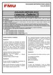 Caderno 11 Prova Unificada - 1º semestre 2014