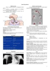 Exame fisico pulmonar