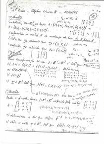 [P2, Segunda Prova] Prova de Álgebra Linear II de 2006.1 ─ Versão B (Professor Mario Jorge Ferreira de Oliveira) ─ Foto 1 de 2