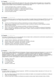 AV-História e Fundamentos da Fisioterapia (100% de acertos)