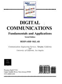Bernard Sklar   Digital Communications Fundamentals And Applications 2nd Edition