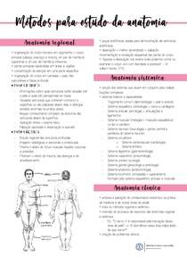 Métodos para estudo da anatomia