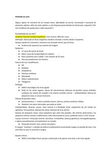 AVCs - resumo completo