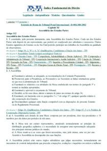 DJi - 112 - D-004.388-2002 - Estatuto.Roma.Tribunal Penal Internacion.Assembléia