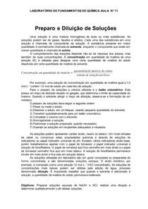 Aula-11-Laboratório-de-Fundamentos-de-Química-Aula-n°-11-Preparo-e-Diluicao-de-Solucoes