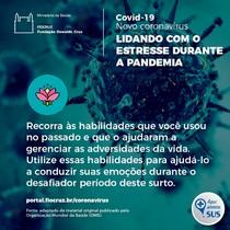 Lidando com estresse (6) COVID-19