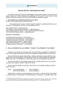 CEL0014-WL-LC-Usos Gerais da Crase