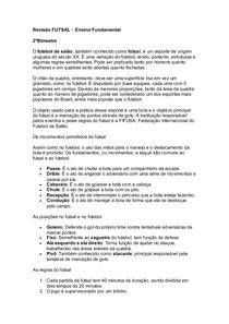 e81ea0bef8027 FUTSAL - Educação Físca