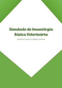 Simulado de Imunologia Básica Veterinária