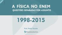 Física do ENEM separada por assunto 1998 2015