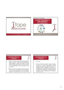 INSPEÇÃO E TECNOLOGIA DE LEITE - Natália - 4 slides PDF