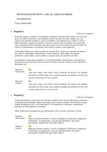 Atividades 4 - Topicos Especiais em Direito II