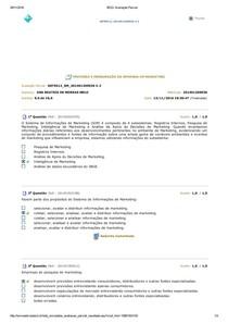 BDQ  Avaliação Parcial   Previsão e Mensuração
