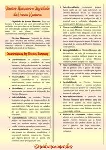 As Características dos Direitos Humanos