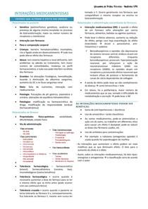 INTERAÇÕES MEDICAMENTOSAS introdução + mistura entre COCAÍNA + ÁLCOOL