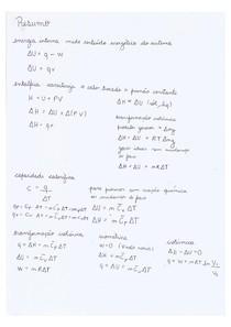 Formulário completo prova de Físico-Química