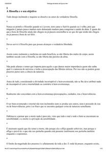 Antologia de textos de Epicuro