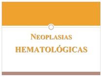 NEOPLASIAS HEMATOLÓGICAS linfó