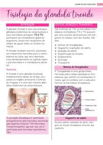 Fisiologia da glândula tireoide