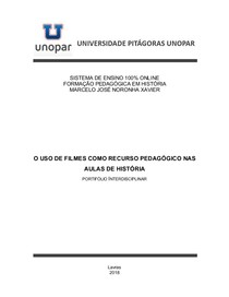 Trabalho Portifólio Interdisciplinar  Marcelo J N Xavier