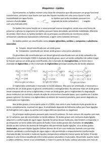 Estrutura De Lipidios Bioquímica I