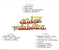 Gasometria Arterial- Acidose Metabólica