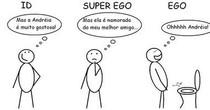 ego, superego e id