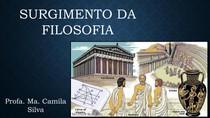 01 - Mito e surgimento da filosofia