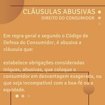 Cláusulas Abusivas