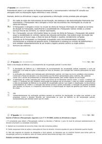 avaliando direito empresarial II