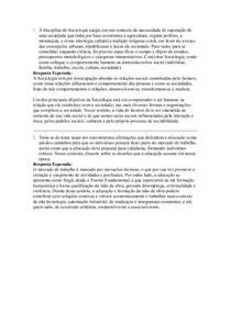 Soceidade Educação e cultura - Dissertativa FINAL - uniasselvi