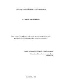 -Geografia-Projeto Interdisciplinar-Geo+Port-