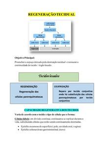 REGENERAÇÃO TECIDUAL