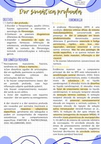 módulo DOR - SP3 Somática profunda
